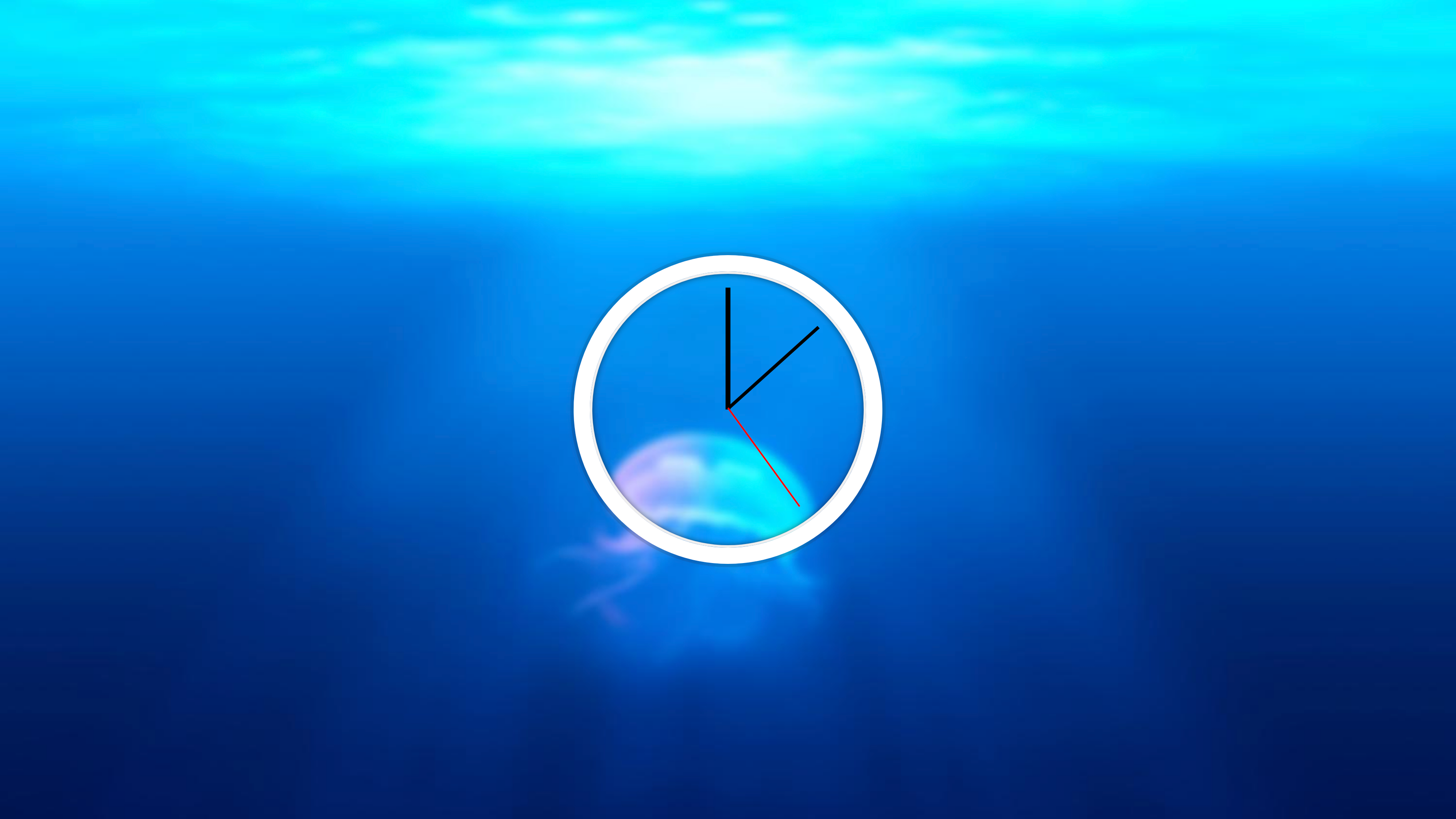Clock built with JavaScript using the Date() object and a setInterval function to update the clock every second